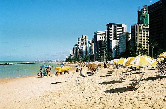 Recife, praia da Boa Viagem - Foto Nicholas Bittencourt CCBY SA