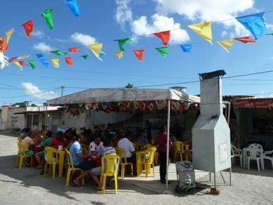 """Boteco"" na feira de Caruaru"