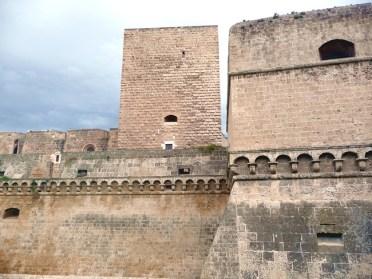 Castelo normando em Bari, Itália