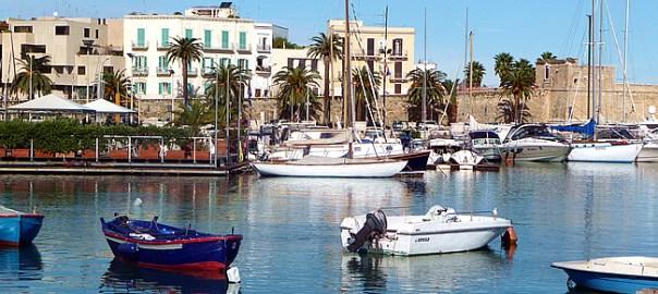 Bari, zona portuária