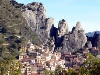 Castelmezzano, no meio de rochedos