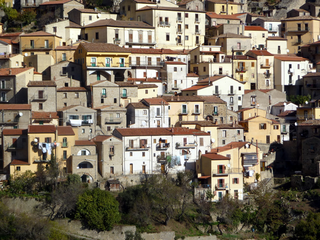 Casario em Castelmezzano