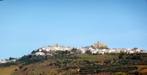 Chegando a Castelmezzano, foto tirada da estrada