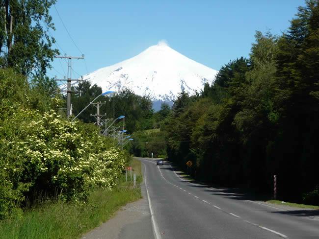 Pucón, Chile, Região dos Lagos, Vulcão Villarica