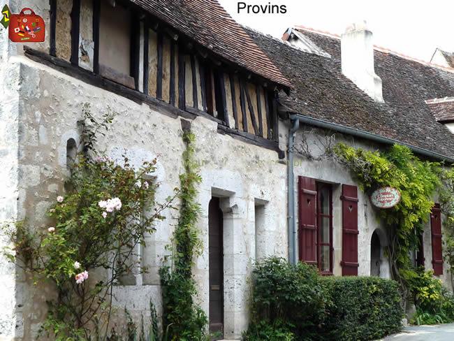 França, Região de Champgne cidade de Provins no verão