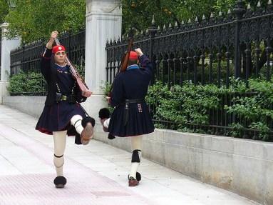 Grecia Atenas, guarda palaciana -foto-Leandro Neumann-cluffo-ccby