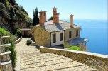 Grecia, Monte, Athos-mosteiro de Simonos-petra-ccby
