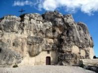 Igreja em um sassi, em Matera, Itália
