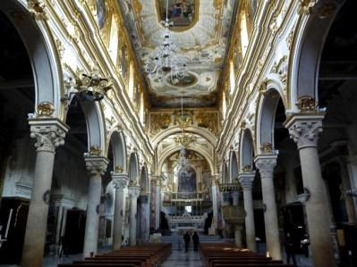 Matera, interior da catedral
