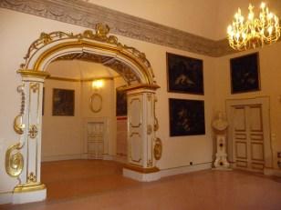 Melfi, interior do castelo