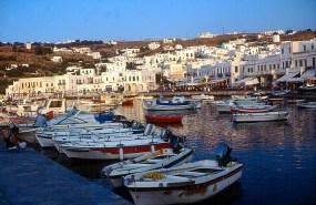 Grécia, porto de Miikonos