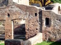 Ruínas em Ostia Antica