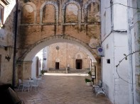 Ostuni, na Itália, cidade medieval