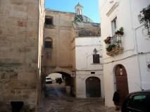 Centro histórico de Ostuni, Itália