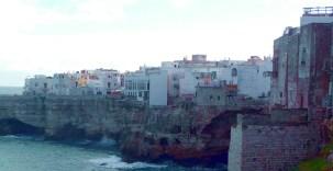 Polignano Al Mare, centro histórico sobre uma península