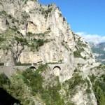 Positano, estrada para Amalfi