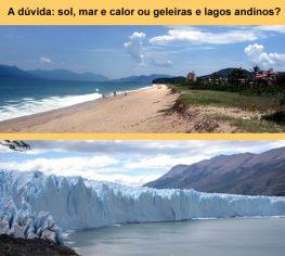 Praias ou lagos andinos?