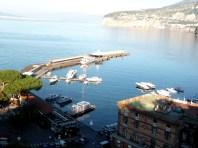 Porto de lazer em Sorrento, Itália