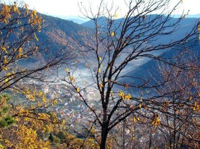 Serra da Estrela em Portugal em novembro