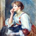 Auguste Renoir (Musée de l'Orangerie, Paris) _ Femme à la lettre Foto Jean-Pierre Dalbéra CCBY