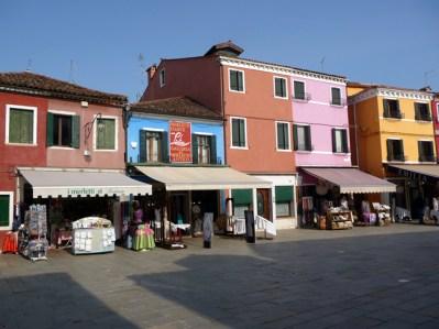 Burano, na Laguna Veneziana, Itália