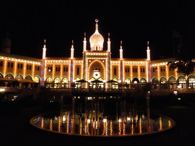 Dinamarca, Kopenhage, Tivoli