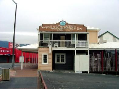 Hotel da época da colonização em Rotorua, Nova Zelândia