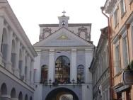 Igreja em Vilnius, Lituânia, Europa Oriental