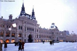 Moscou sob a neve, Rússia, Europa Oriental