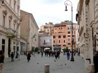 Região central próximo da Piazza di Spagna, Roma