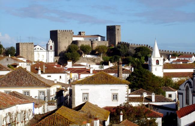 Portugal, cidade de Óbidos
