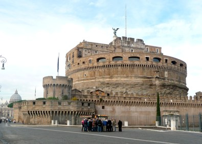 Castel Sant'Angelo, em Roma