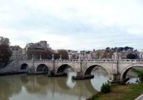 Roma vista da margem direita do Tibre