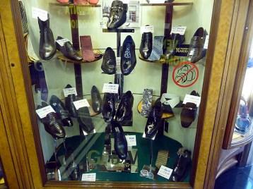 Sapatos italianos, Via del Corso, Roma