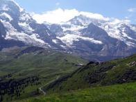 Suica, passeio de Mannlichen a Kleine-Scheidegg fotos de Chantal Nagel