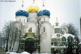 Templo ortodoxo em Moscou, Rússia, Europa Oriental
