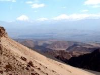 Vulcões e dunas no Atacama, Valle de la Muert