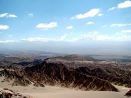 Valle de la Muerte, no Atacama, Chile