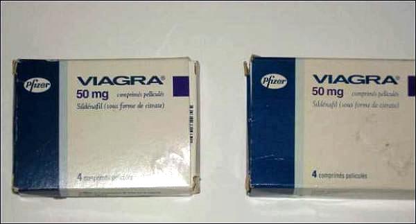 Viagra falso e verdadeiro. Só tomando você sabe qual é o falso...