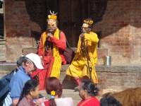 Shadus, em Katmandu, Nepal