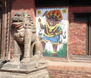 Escultura de pedra, Patan, Nepal