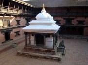 Pátio do Royal Palace, Patan, Nepal