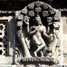 Relevo em pedra, Patan, Nepal
