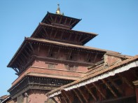 Telhados do Palácio Real, Patan, Nepal