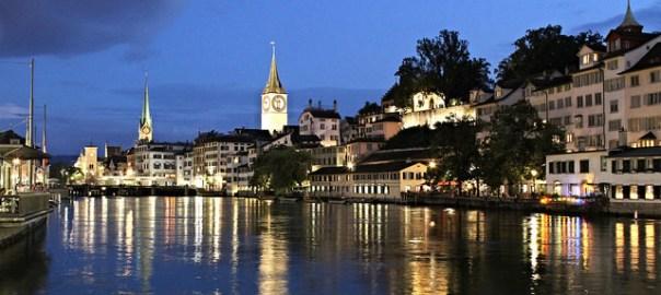 Rio Limmat, Zurich. Foto de Mark Gunn (CC BY 2.0)