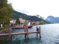Embarcadouro do lago de Lucerna