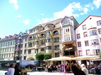 Innsbruck, calçadão do centro histórico