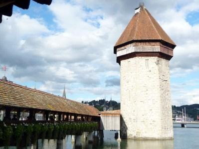 Kapellbrücke (ponte da capela) e Torre de Água