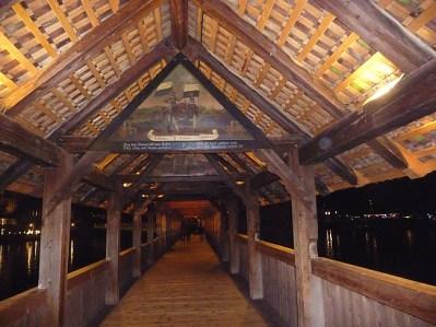 Ponte da Capela por dentro