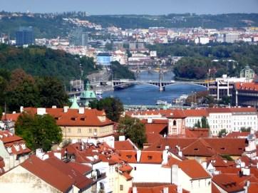 Praga, vista panorâmica